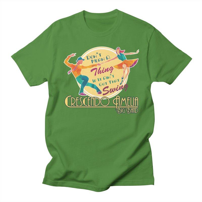Crescendo Amelia Big Band - Swing Women's Regular Unisex T-Shirt by Crescendo Amelia Merchandise
