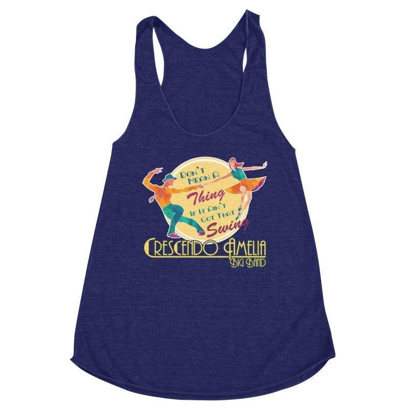 Crescendo Amelia Big Band - Swing Women's Tank by Crescendo Amelia Merchandise