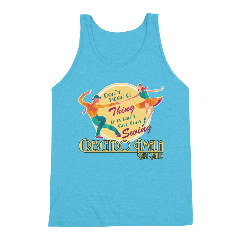 Crescendo Amelia Big Band - Swing Men's Tank by Crescendo Amelia Merchandise