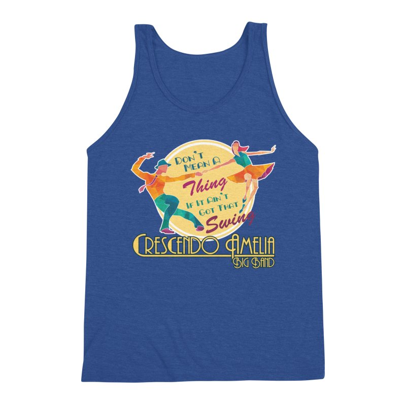 Crescendo Amelia Big Band - Swing Men's Tank by Crescendo Amelia Merchandise