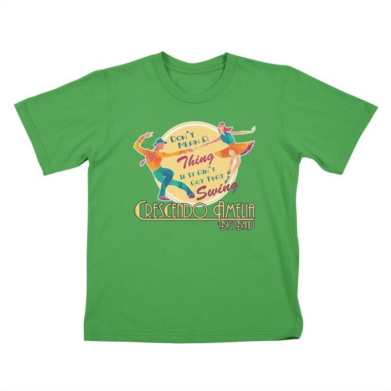 Crescendo Amelia Big Band - Swing Kids T-Shirt by Crescendo Amelia Merchandise