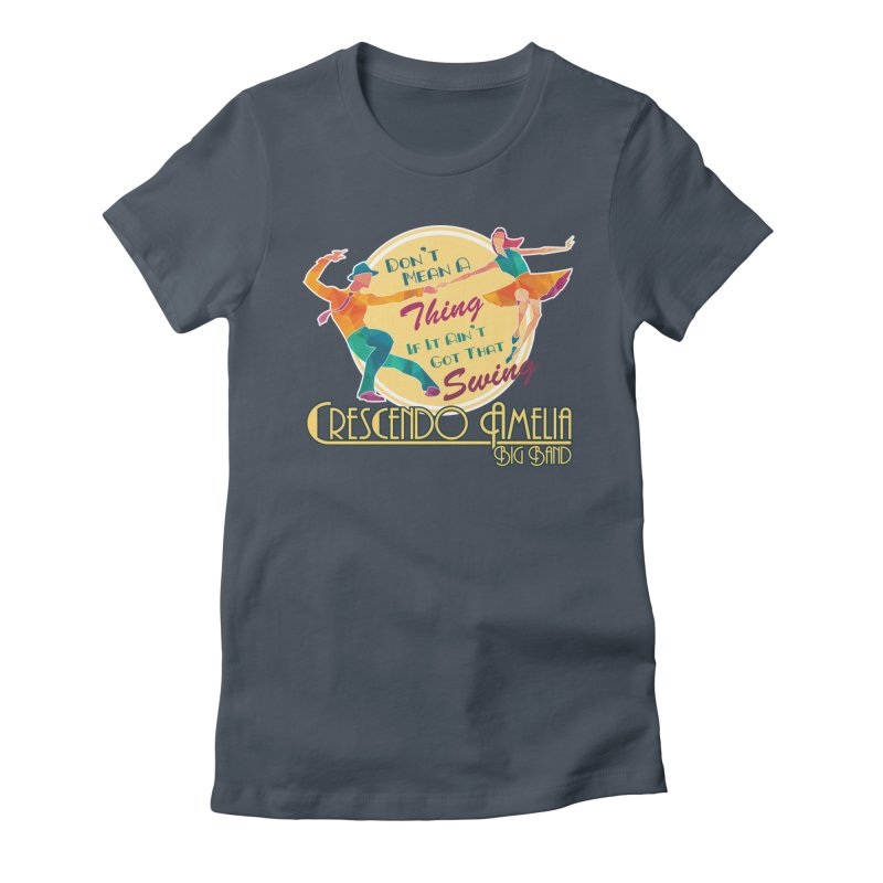 Crescendo Amelia Big Band - Swing Women's T-Shirt by Crescendo Amelia Merchandise