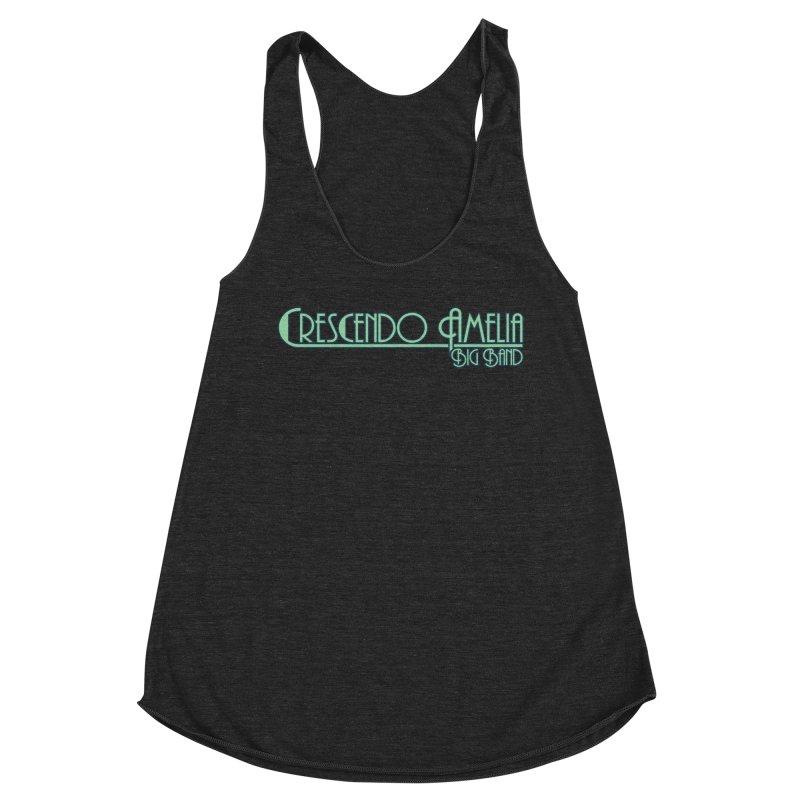 Crescendo Amelia Big Band - Blue Logo Women's Tank by Crescendo Amelia Merchandise