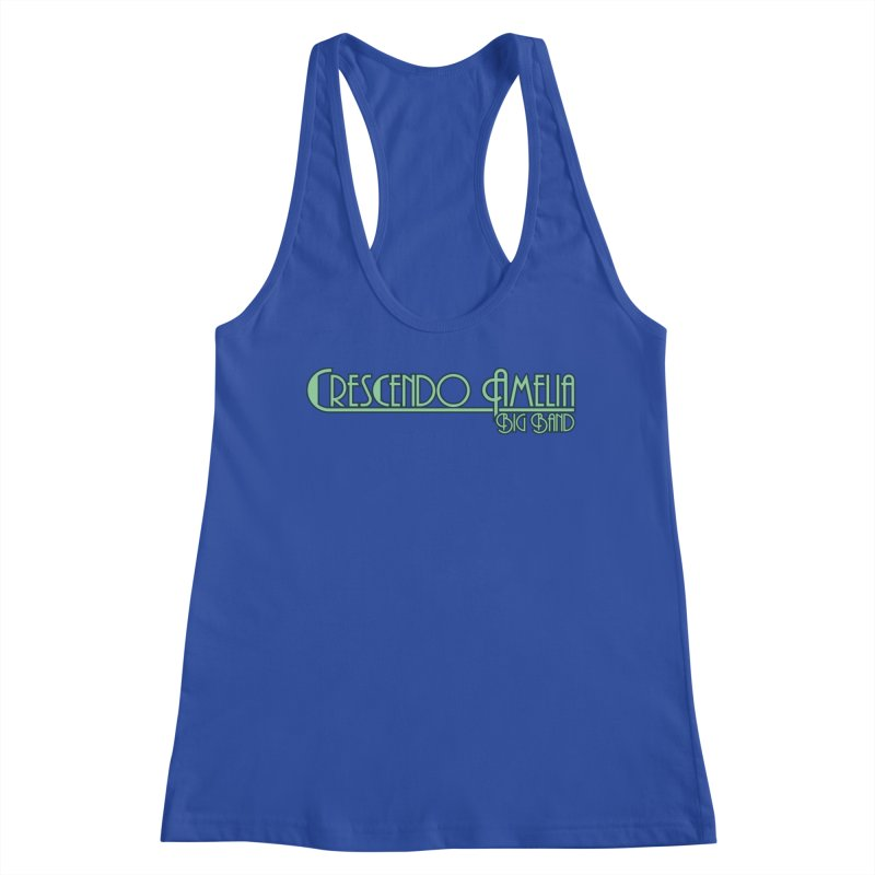 Crescendo Amelia Big Band - Blue Logo Women's Tank by Crescendo Amelia Merchandise