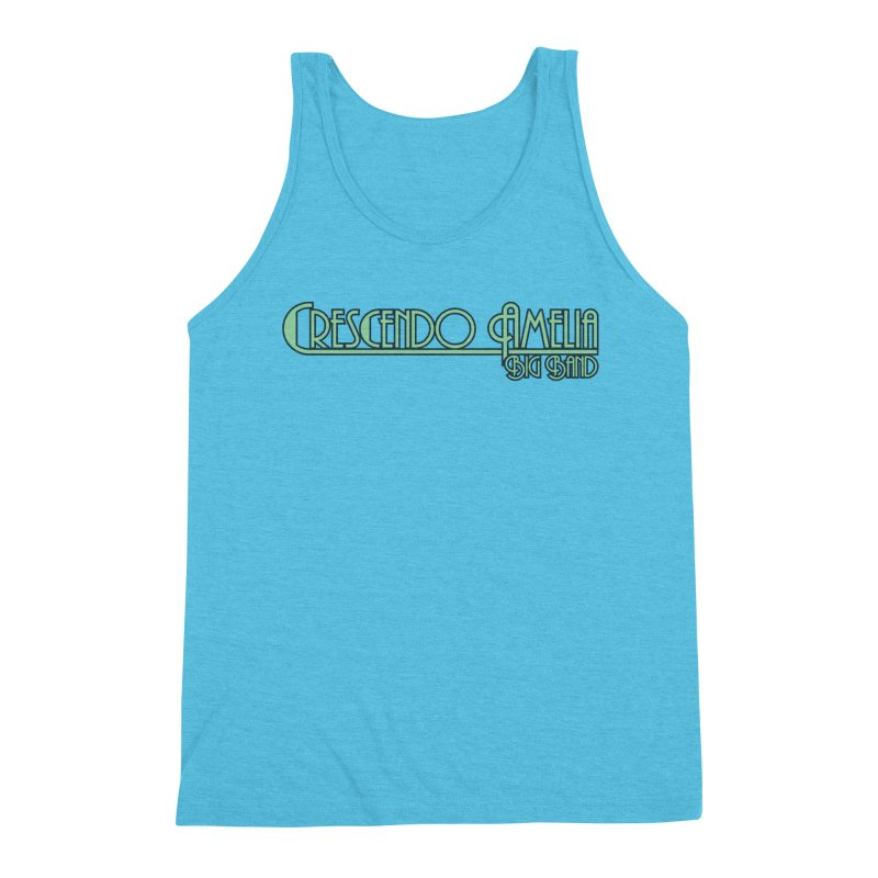 Crescendo Amelia Big Band - Blue Logo Men's Tank by Crescendo Amelia Merchandise