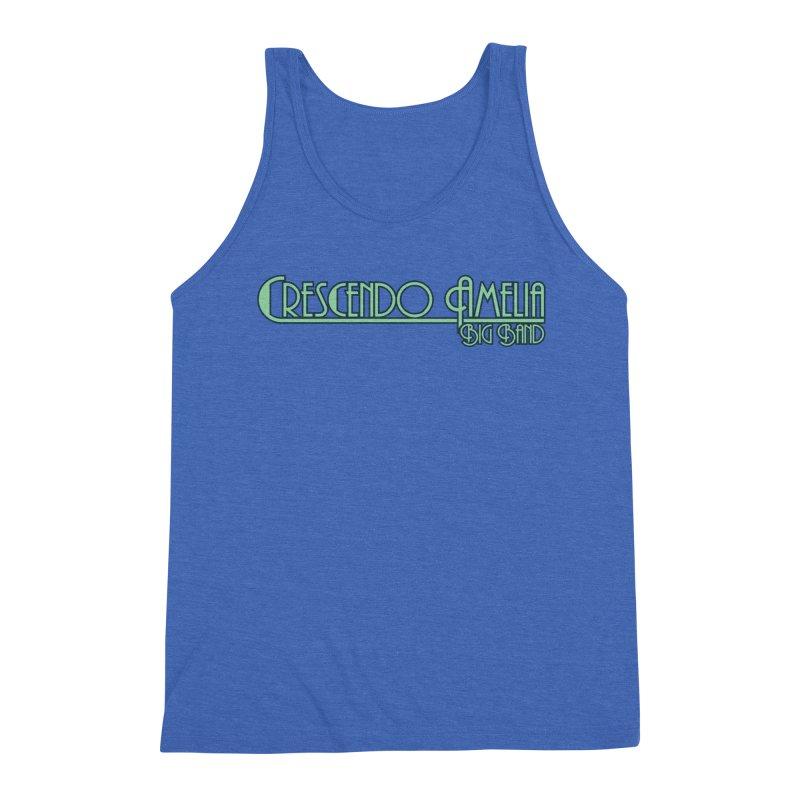 Crescendo Amelia Big Band - Blue Logo Men's Tank by Crescendo Amelia Merchandise