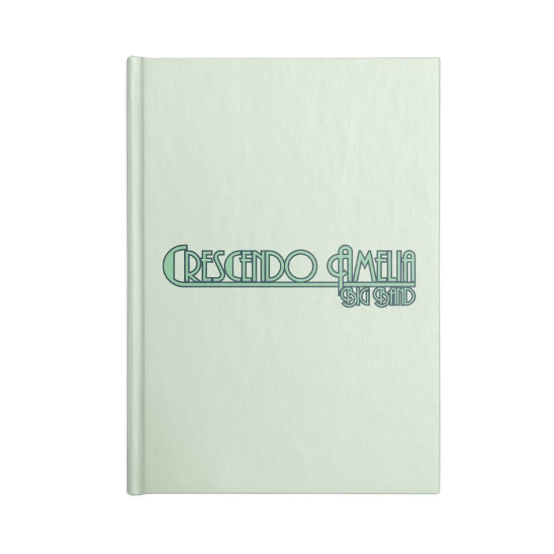 Crescendo Amelia Big Band - Blue Logo Accessories Notebook by Crescendo Amelia Merchandise
