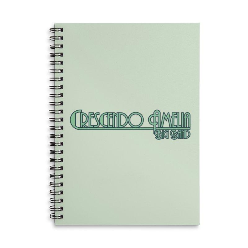 Crescendo Amelia Big Band - Blue Logo Accessories Notebook by Crescendo Amelia Merchandise