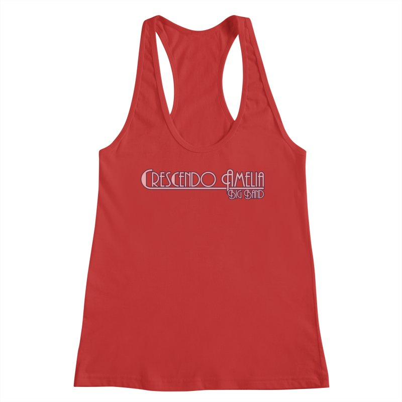 Crescendo Amelia Big Band - Pink Logo Women's Tank by Crescendo Amelia Merchandise