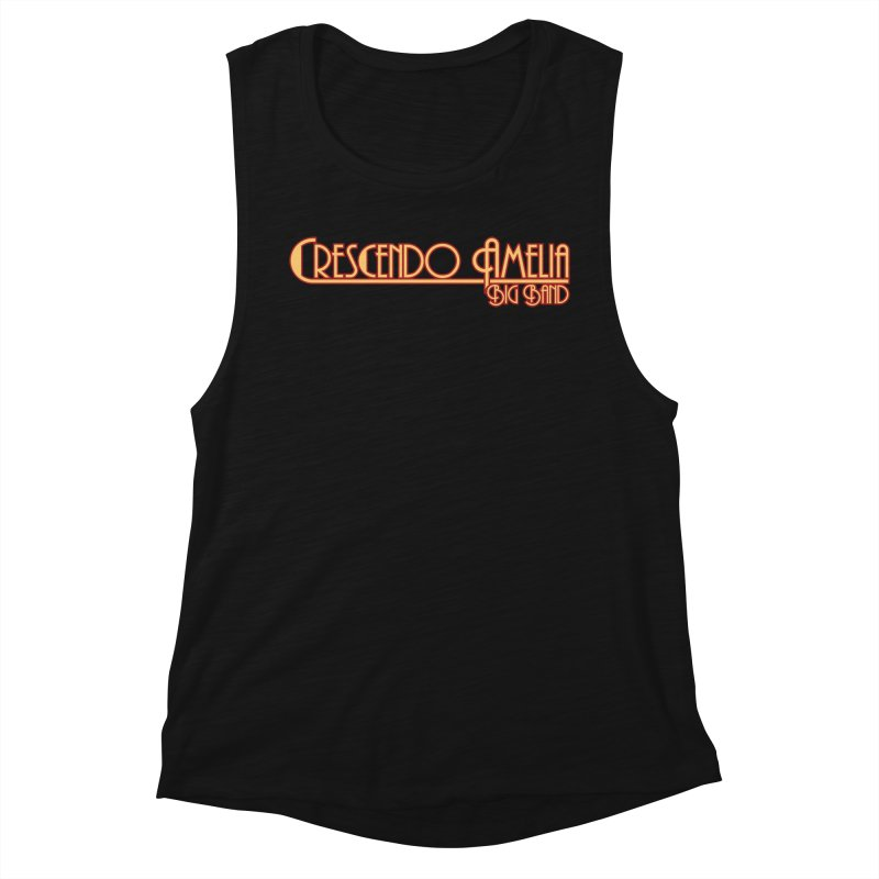 Crescendo Amelia Big Band - Orange Logo Women's Tank by Crescendo Amelia Merchandise