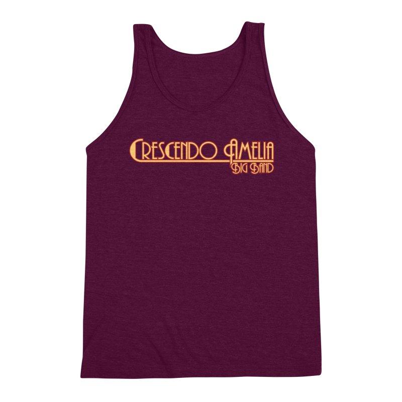 Crescendo Amelia Big Band - Orange Logo Men's Tank by Crescendo Amelia Merchandise