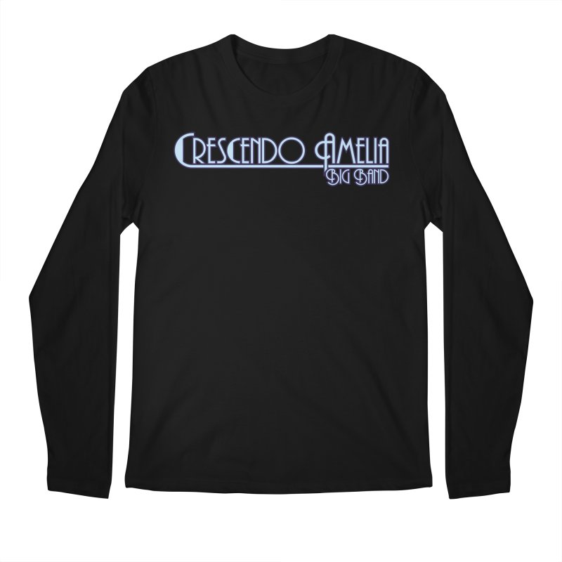 Crescendo Amelia Big Band - Purple Logo Men's Longsleeve T-Shirt by Crescendo Amelia Merchandise