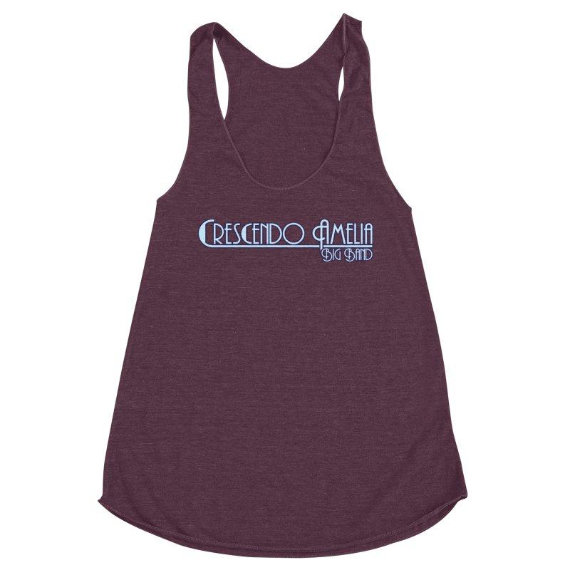 Crescendo Amelia Big Band - Purple Logo Women's Tank by Crescendo Amelia Merchandise