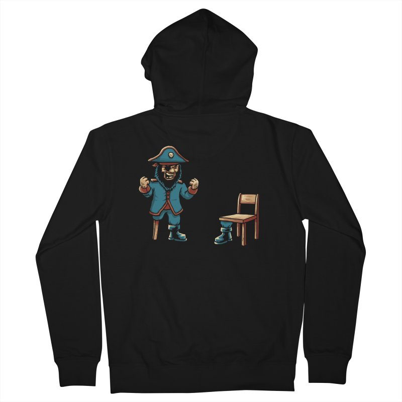 Incompetent Fools Men's French Terry Zip-Up Hoody by CrescentDebris's Artist Shop