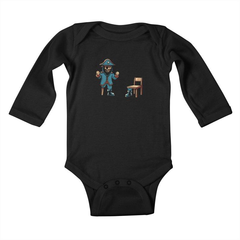 Incompetent Fools Kids Baby Longsleeve Bodysuit by CrescentDebris's Artist Shop