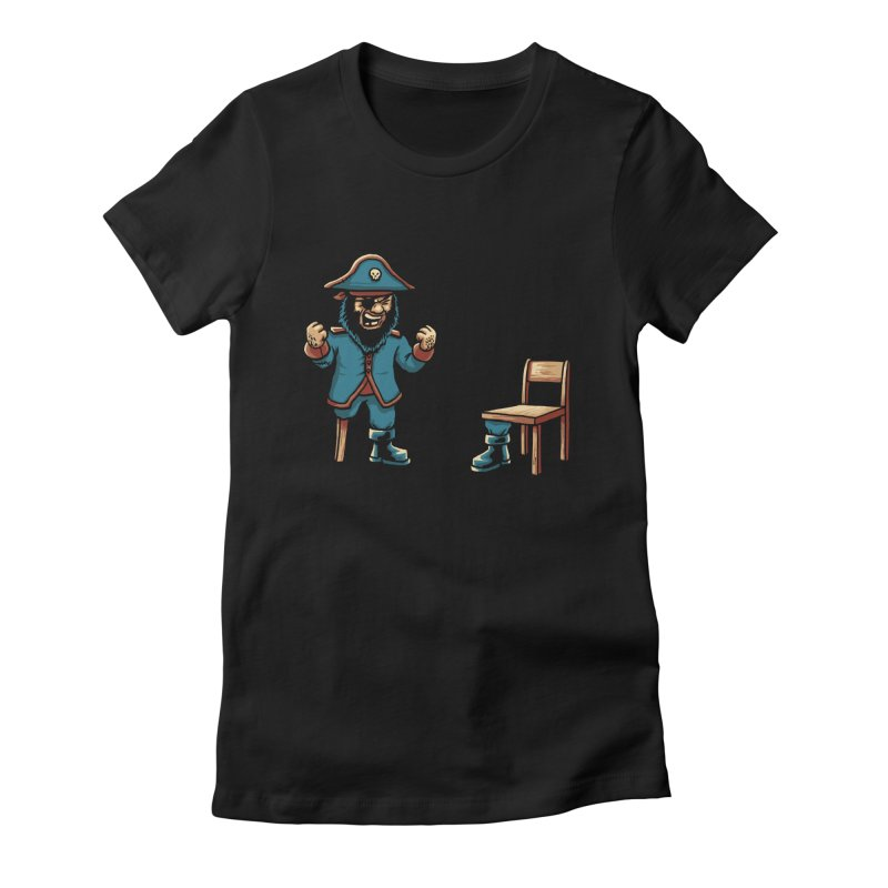 Incompetent Fools Women's Fitted T-Shirt by CrescentDebris's Artist Shop