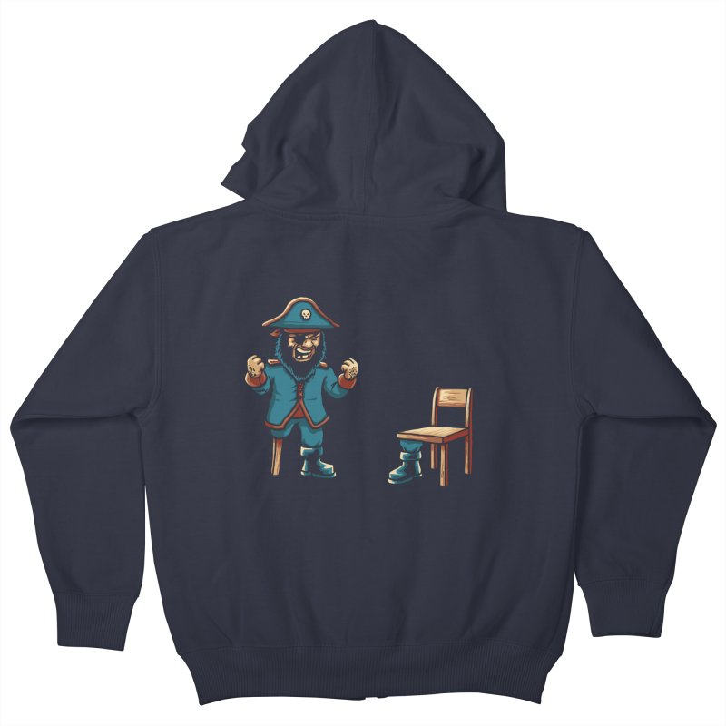 Incompetent Fools Kids Zip-Up Hoody by CrescentDebris's Artist Shop