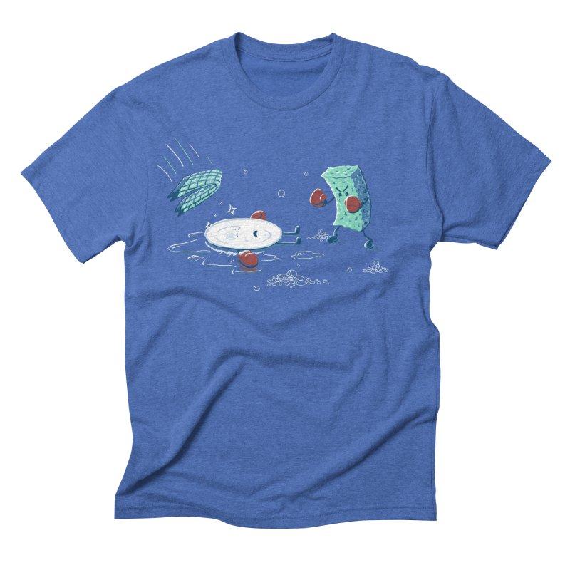 A Clean Fight Men's Triblend T-shirt by CrescentDebris's Artist Shop