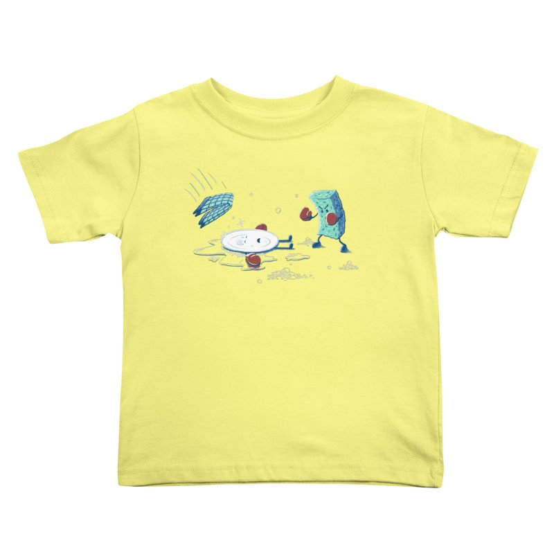 A Clean Fight Kids Toddler T-Shirt by CrescentDebris's Artist Shop