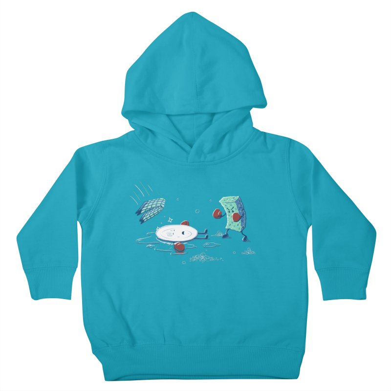 A Clean Fight Kids Toddler Pullover Hoody by CrescentDebris's Artist Shop