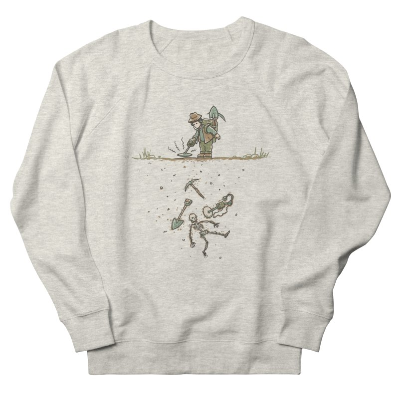 Detecting A Bit Of Irony Men's French Terry Sweatshirt by CrescentDebris's Artist Shop