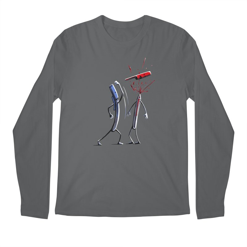 Martial Art Supplies: DeCAPitation Men's Longsleeve T-Shirt by CrescentDebris's Artist Shop