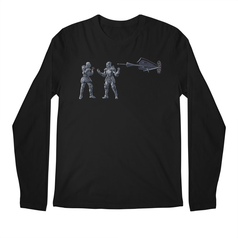 Foggy on the Details Men's Regular Longsleeve T-Shirt by CrescentDebris's Artist Shop