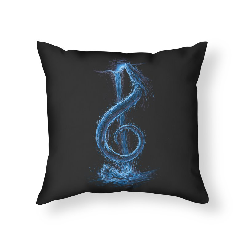 Trebled Waters Home Throw Pillow by CrescentDebris's Artist Shop