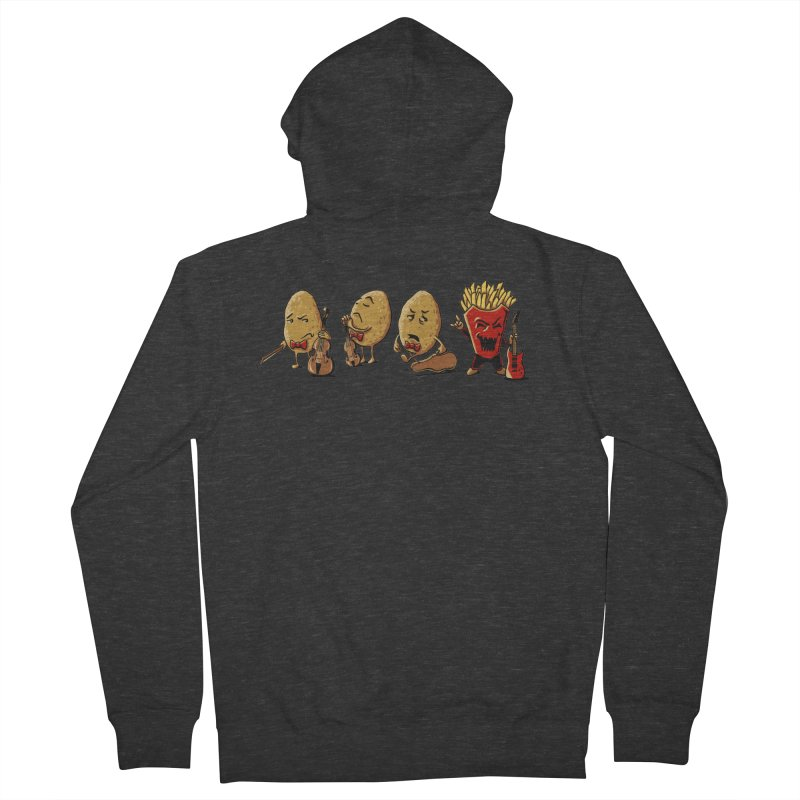 A Different Taste in Music Women's Zip-Up Hoody by CrescentDebris's Artist Shop