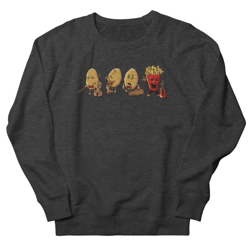 A Different Taste Men's French Terry Sweatshirt by CrescentDebris's Artist Shop