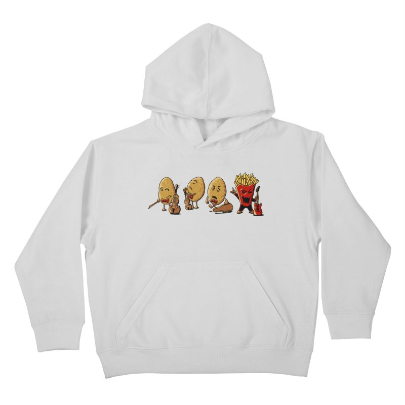 A Different Taste in Music Kids Pullover Hoody by CrescentDebris's Artist Shop