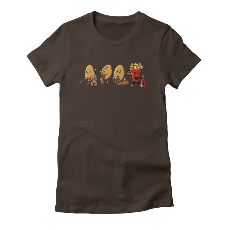 A Different Taste Women's Fitted T-Shirt by CrescentDebris's Artist Shop