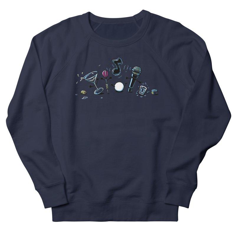 The Bar is Set Men's French Terry Sweatshirt by CrescentDebris's Artist Shop