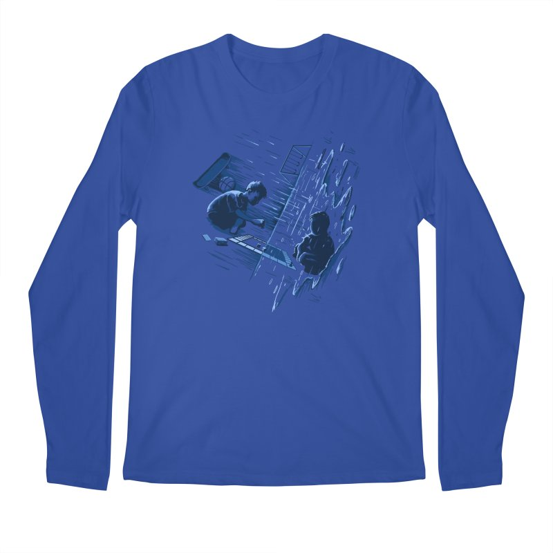 Playground Men's Regular Longsleeve T-Shirt by CrescentDebris's Artist Shop
