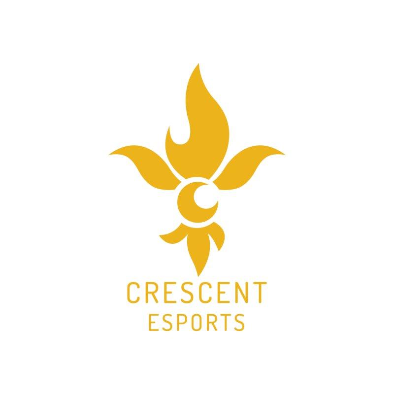 CE Golden Fleur Men's T-Shirt by Crescent Esports Shop