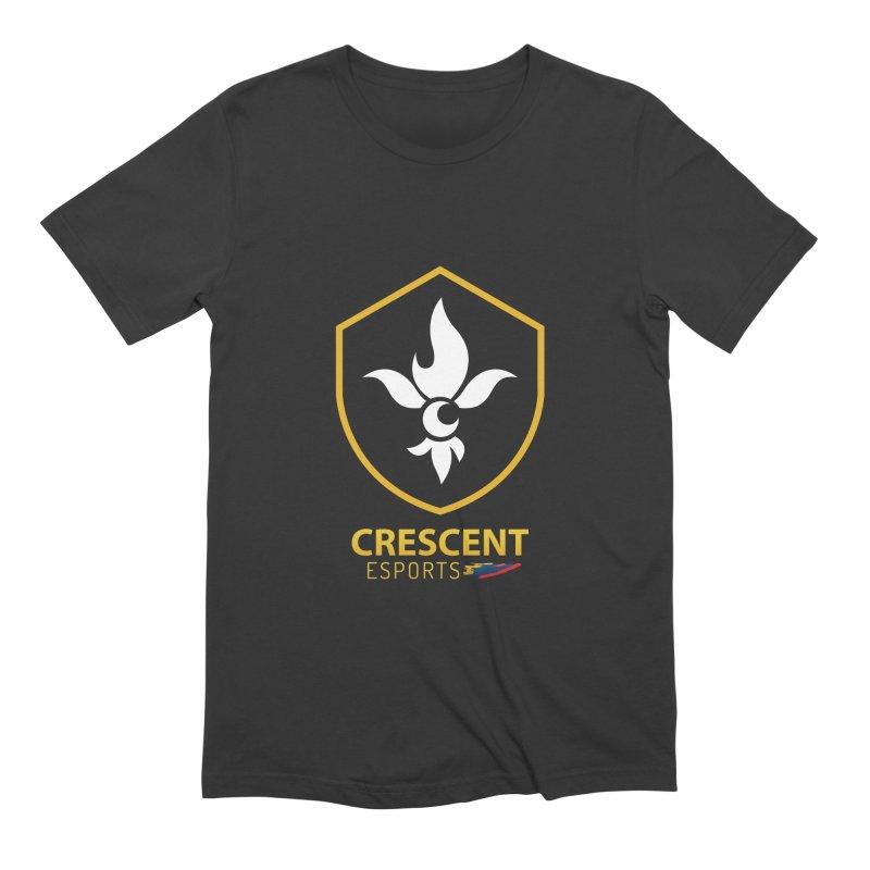 Shield of Crescent Esports Men's T-Shirt by Crescent Esports Shop