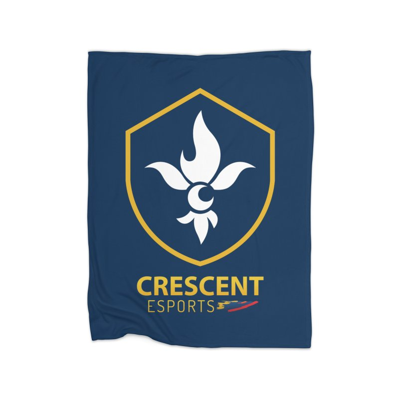 Shield of Crescent Esports Home Blanket by Crescent Esports Shop