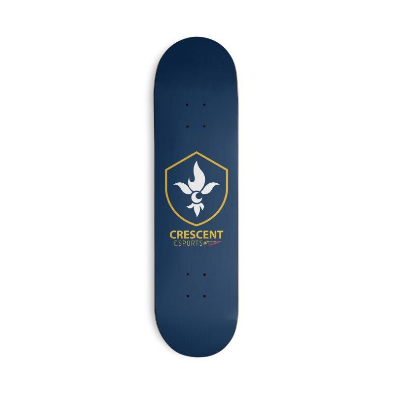 Shield of Crescent Esports Accessories Skateboard by Crescent Esports Shop