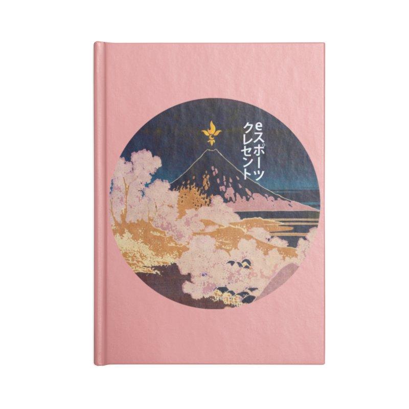 CE Katakana Night Accessories Notebook by Crescent Esports Shop