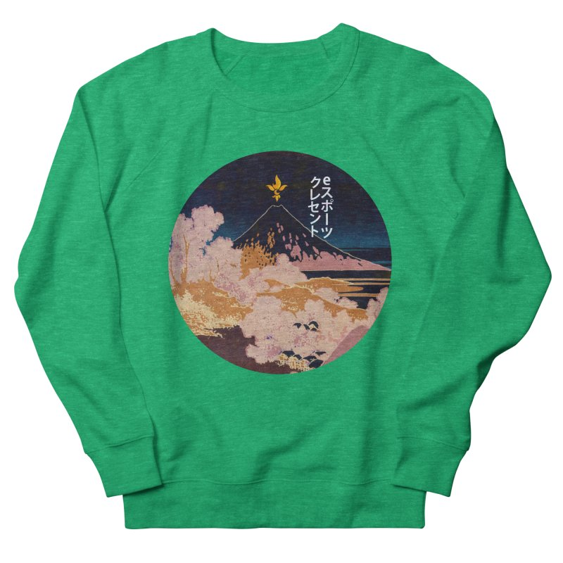 CE Katakana Night Women's Sweatshirt by Crescent Esports Shop