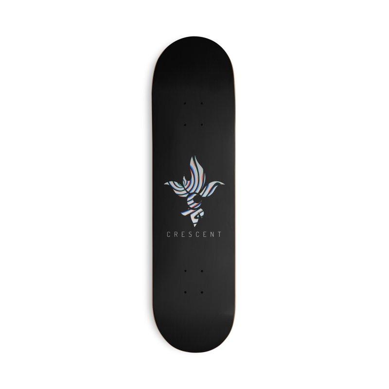 Metallic Fleur Accessories Skateboard by Crescent Esports Shop