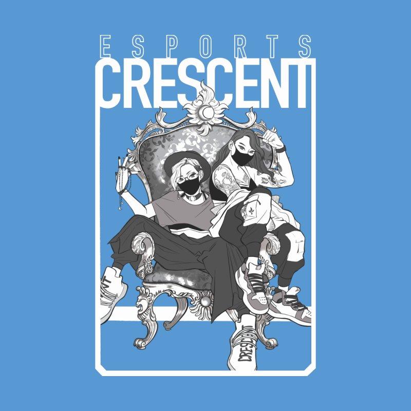 Bleue Queens of Crescent | Accessories and Prints Accessories Bag by Crescent Esports Shop