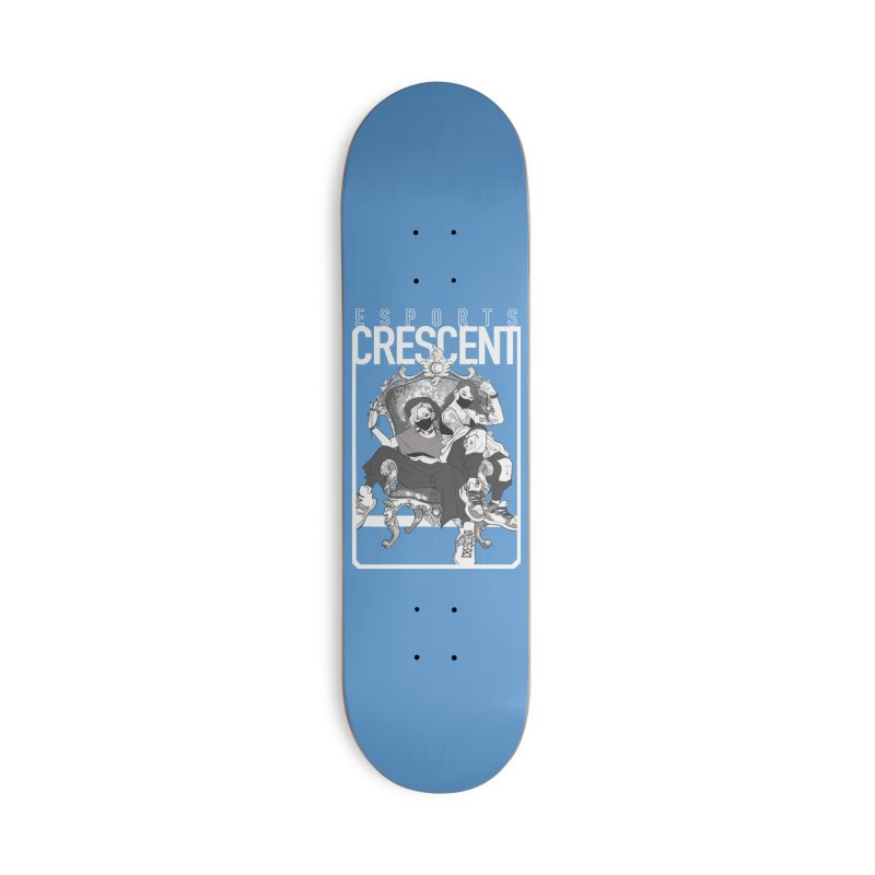 Bleue Queens of Crescent | Accessories and Prints Accessories Skateboard by Crescent Esports Shop