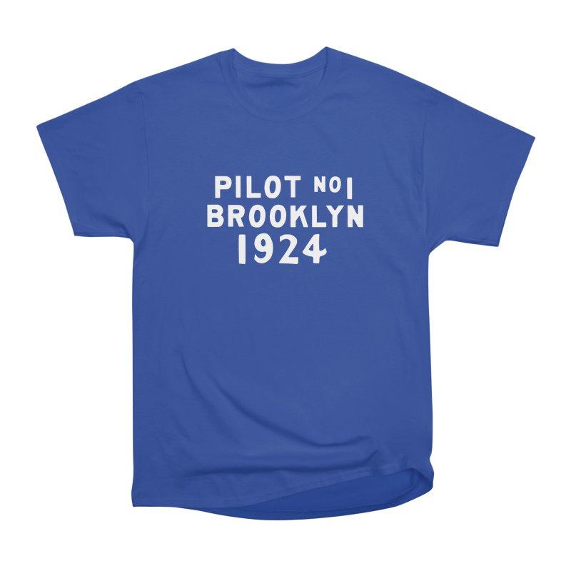 Pilot No.1 Brooklyn Men's Heavyweight T-Shirt by C R E W