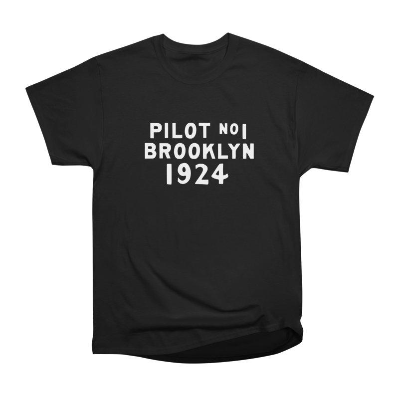 Pilot No.1 Brooklyn Women's Heavyweight Unisex T-Shirt by C R E W