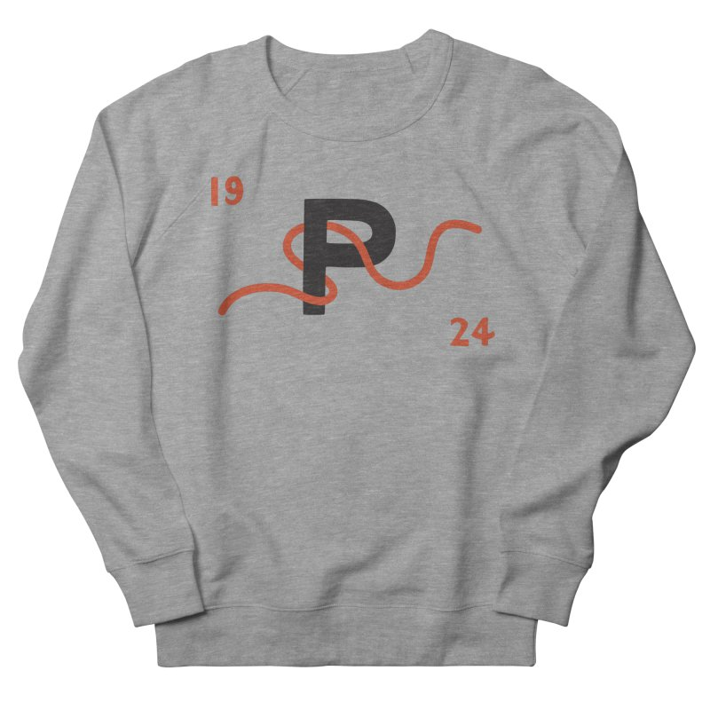 1924 in Men's French Terry Sweatshirt Heather Graphite by C R E W
