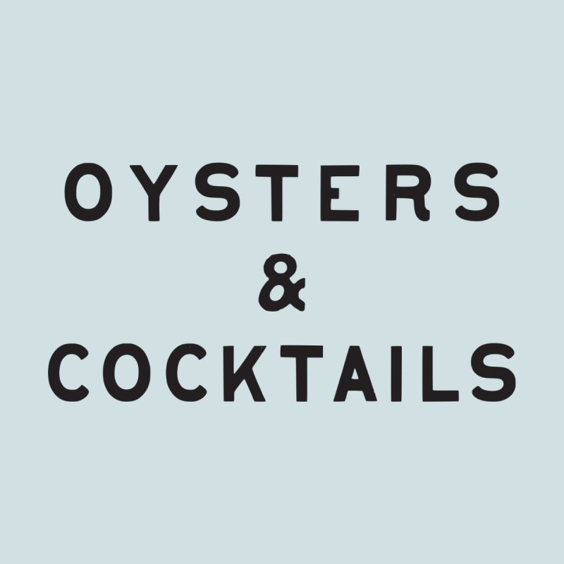 Oysters & Cocktails Men's T-Shirt by C R E W