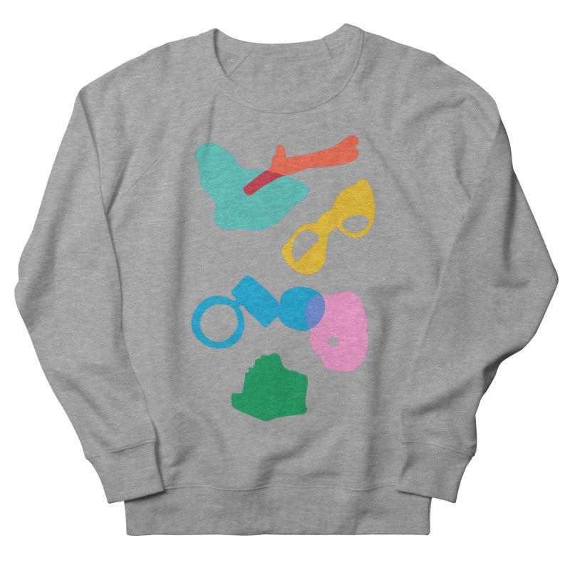 Ocean Plastics Men's French Terry Sweatshirt by C R E W