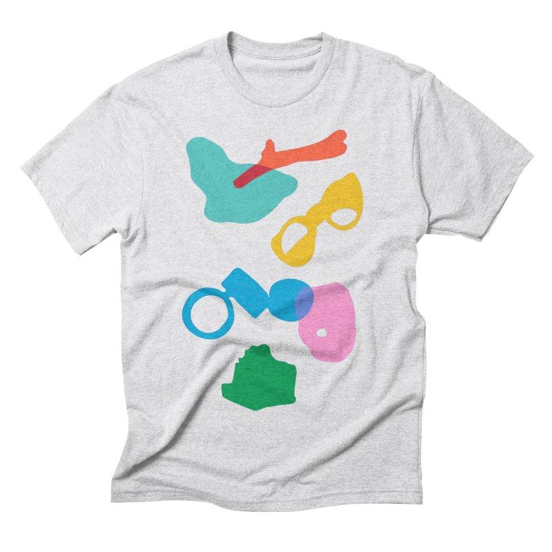 Ocean Plastics Men's Triblend T-Shirt by C R E W