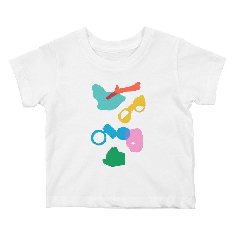 Ocean Plastics Kids Baby T-Shirt by C R E W